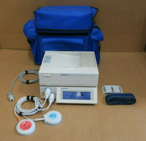 Huntleigh Sonicaid Team Duo Twins Dual Fetal Heart Rate Monitor Care Printer